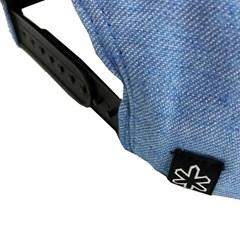 ... Boné Tuff Azul Mescla  Preto CAP-0744-SNAP a8c60e5923d