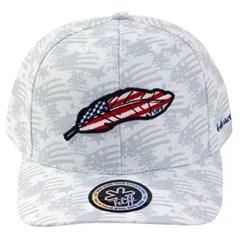 Boné Tuff Branco Estampado CAP-1224-SNAP