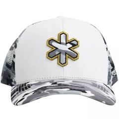 Boné Tuff Branco/Tela Camuflado CAP-1225-SNAP