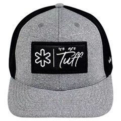 Boné Tuff Cinza/Tela Preto CAP-1243-SNAP