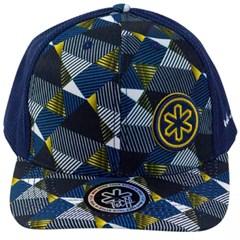 Boné Tuff Estampado/Tela Azul Marinho CAP-1227-SNAP