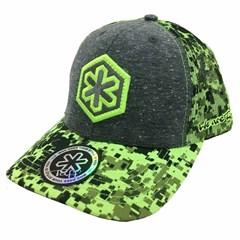 Boné Tuff Green Pixels CAP-0309-SNAP ... cc0304e7499