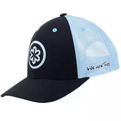 Boné Tuff Preto/Tela Azul Claro CAP-1042-SNAP