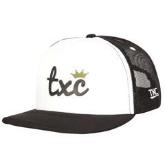Boné TXC Branco/Preto/Tela 150R