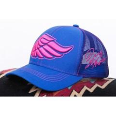 Boné Zenz Western Azul Royal/Pink/Tela ZW0418050