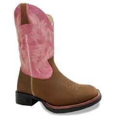 Bota Classic Dallas Texoil/Pink/Branco