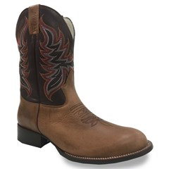 Bota Dahora Boots Fossil/Vinho 020