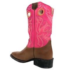 Bota Durango Feminina Canela/ Pink 1280002991C1C