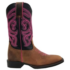 Bota Durango Red Dog/Preto/Pink 1777407227G1M