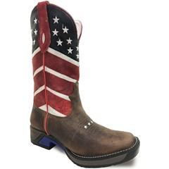 Bota Goyazes Dallas Tabaco/U.S.A. Solado Jump 174804-CS