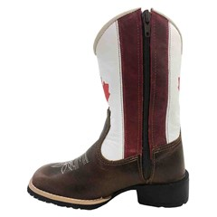 Bota Infantil Mr. West Boots Fossil Tabaco/Canada 81560