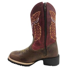 Bota Infantil Mr. West Boots Fossil Tabaco/Fossil Vermelho 81559-Touro