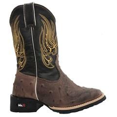 Bota Infantil Mr. West Boots Réplica Avestruz Tab 83590