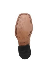 Bota Mexican Boots Avestruz Conhaque/ Mad Dog Tab 87202-MX