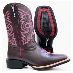 Bota Mexican Boots Café/Café 91199