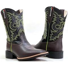 Bota Mexican Boots Café Preto 91611