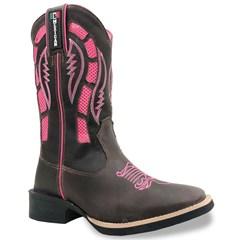 Bota Mexican Boots Fossil Café/Fossil Café/Pink 86352
