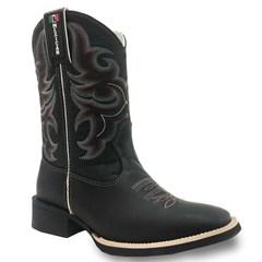 Bota Mexican Boots Fossil Preto/ Fossil Preto 82560