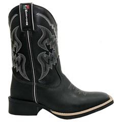 Bota Mexican Boots Fossil Preto/Preto 84498