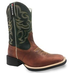 Bota Mexican Boots Fossil Sella/Fossil Verde 82562