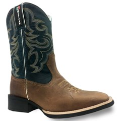 Bota Mexican Boots Fossil Tab/Fossil Azul 82561