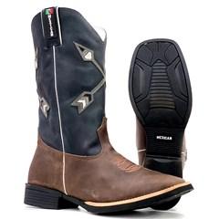 Bota Mexican Boots Fossil Tab/ Fossil Preto 93339