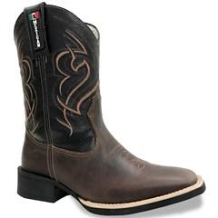 Bota Mexican Boots Fossil Tab/Preto 84499