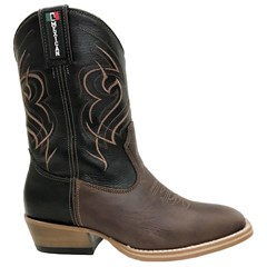 Bota Mexican Boots Fossil Tab/Preto/Inervo Carrapeta 84500