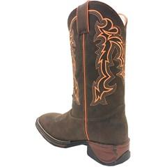 Bota Mexican Boots Mad Dog Café/Laranja Neon 81203-MX