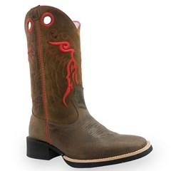 Bota Mexican Boots Mad Dog Café/Mad Dog Tabaco 82013