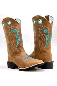 Bota Mexican Boots Mad Dog Tab/ Mad Dog Tab/ Turquesa 91169