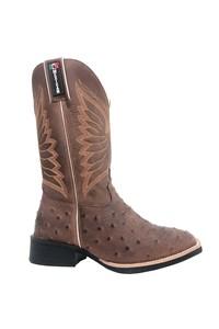 Bota Mexican Boots Réplica Avestruz Tab/ Fossil Tab 87199-MX