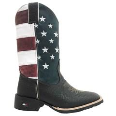 Bota Mr. West Boots Cabeça Preta 68543 B-58 USA
