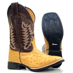 Bota Mr. West Boots Conhaque/Tab 91707