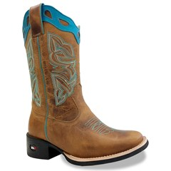 Bota Mr. West Boots Fossil Mostarda/Fossil Mostarda/Turquesa 89312