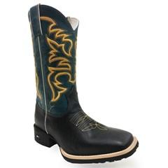 Bota Mr. West Boots Fossil Preto/ Fossil Azul 69184