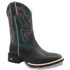 Bota Mr. West Boots Fossil Preto/Fossil Azul 83596