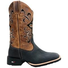 Bota Mr. West Boots Fossil Preto/Fossil Mostarda 85975