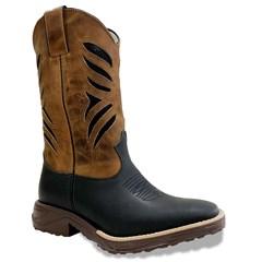 Bota Mr. West Boots Fossil Preto/Fossil Mostarda 89600