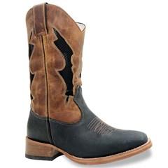 Bota Mr. West Boots Fossil Preto/Fossil Mostarda/Preto 86344