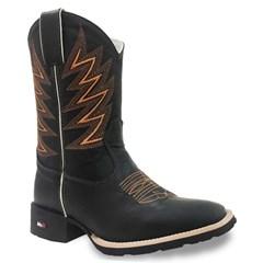 Bota Mr. West Boots Fossil Preto/Fossil Preto 82553