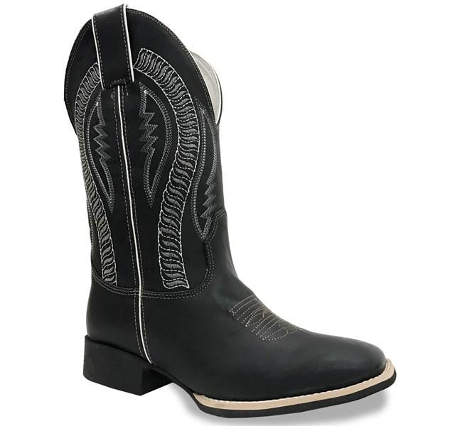 Bota Mr. West Boots Fossil Preto/Fossil Preto 84515