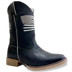 Bota Mr. West Boots Fossil Preto/Fossil Preto 89322