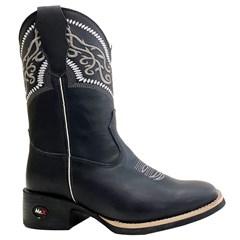 Bota Mr. West Boots Fossil Preto/Fossil Preto/Branco 89310