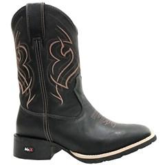 Bota Mr. West Boots Fossil Preto/ Fossil Preto/ Marrom 84572