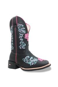 Bota Mr. West Boots Fossil Preto/ Fossil Preto/Pink/ Azul 87190