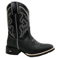 Bota Mr.West Boots Fossil Preto/ Preto 84575
