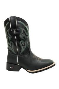 Bota Mr.West Boots Fossil Preto/ Preto/ Verde 84574