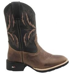 Bota Mr. West Boots Fossil Tab/Preto 83589