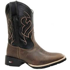 Bota Mr.West Boots Fossil Tab/ Preto 84577